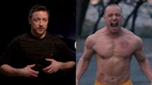James McAvoy couldn't cheat being ripped for 'Glass', so he did it for real
