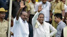 Kumaraswamy-led JD(S)-Congress Govt wins Karnataka Floor Test