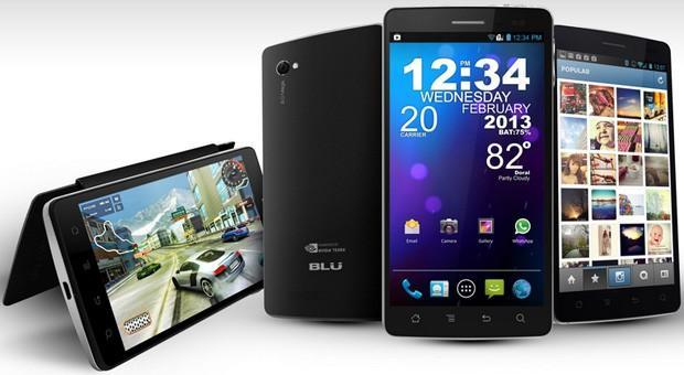 BLU Products unveils Tegra 3-running Quattro 4.5, 4.5 HD and 5.7 HD