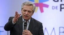 """Alberto Fernández, a los industriales en México: """"Hay que reconstruir el aparato productivo"""""""