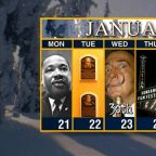 Calendar: Week of January 21