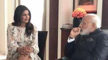 Priyanka Chopra shamed for 'showing legs' to India's prime minister