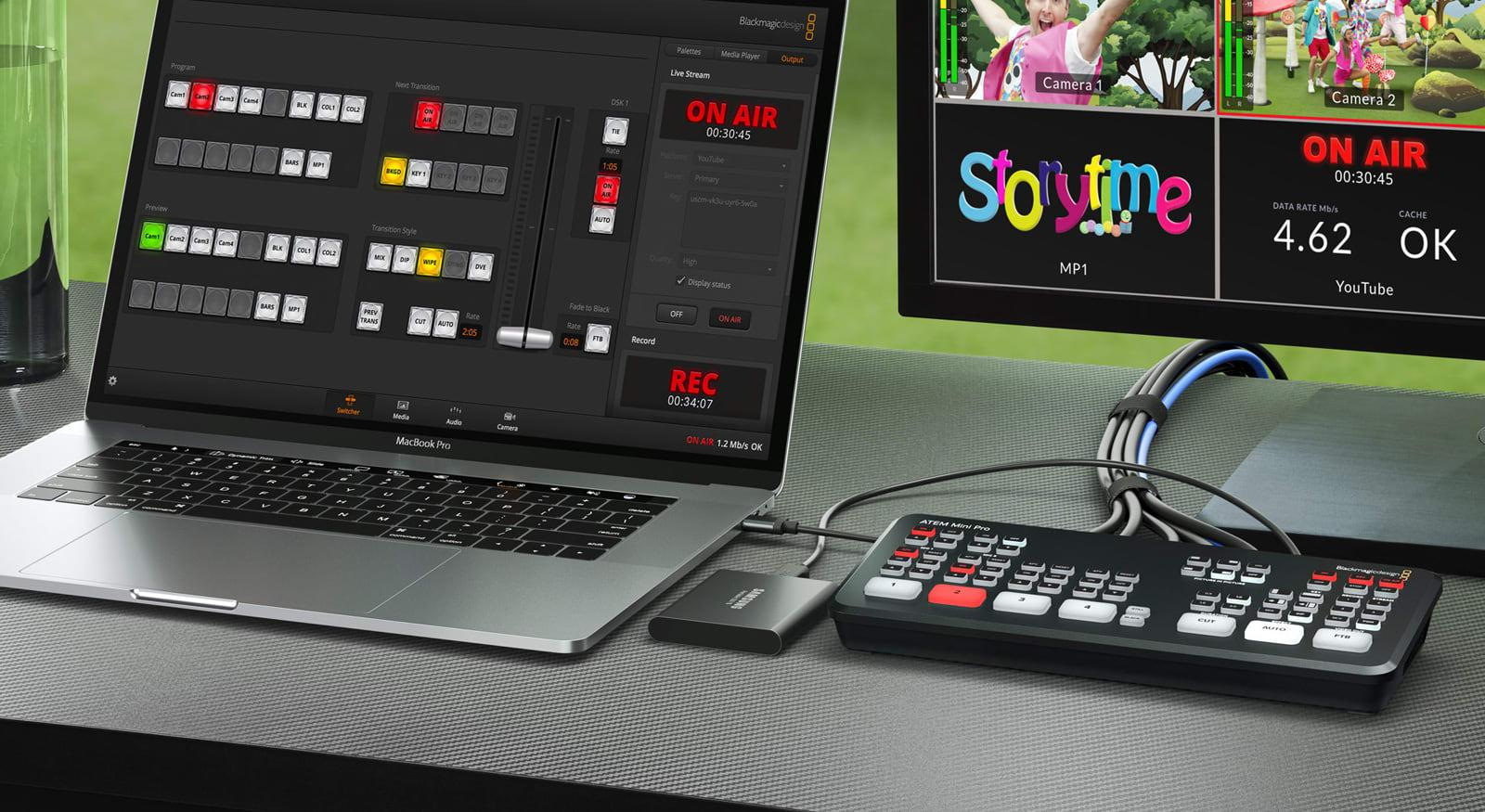 Blackmagic S Pro Livestreaming Switcher Can Broadcast Without Software Engadget