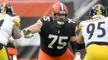 Browns' Bitonio 'pumped' for playoff debut after COVID-19