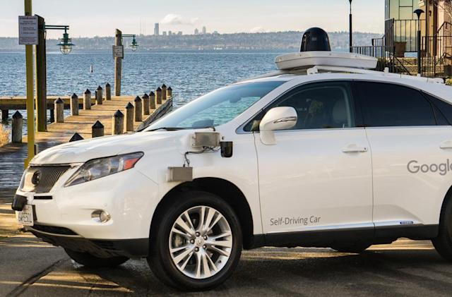 Google's self-driving cars hit the rainy streets of Washington state