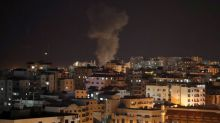Palestinians fire rockets, Israel bombs Hamas TV after botched Gaza raid