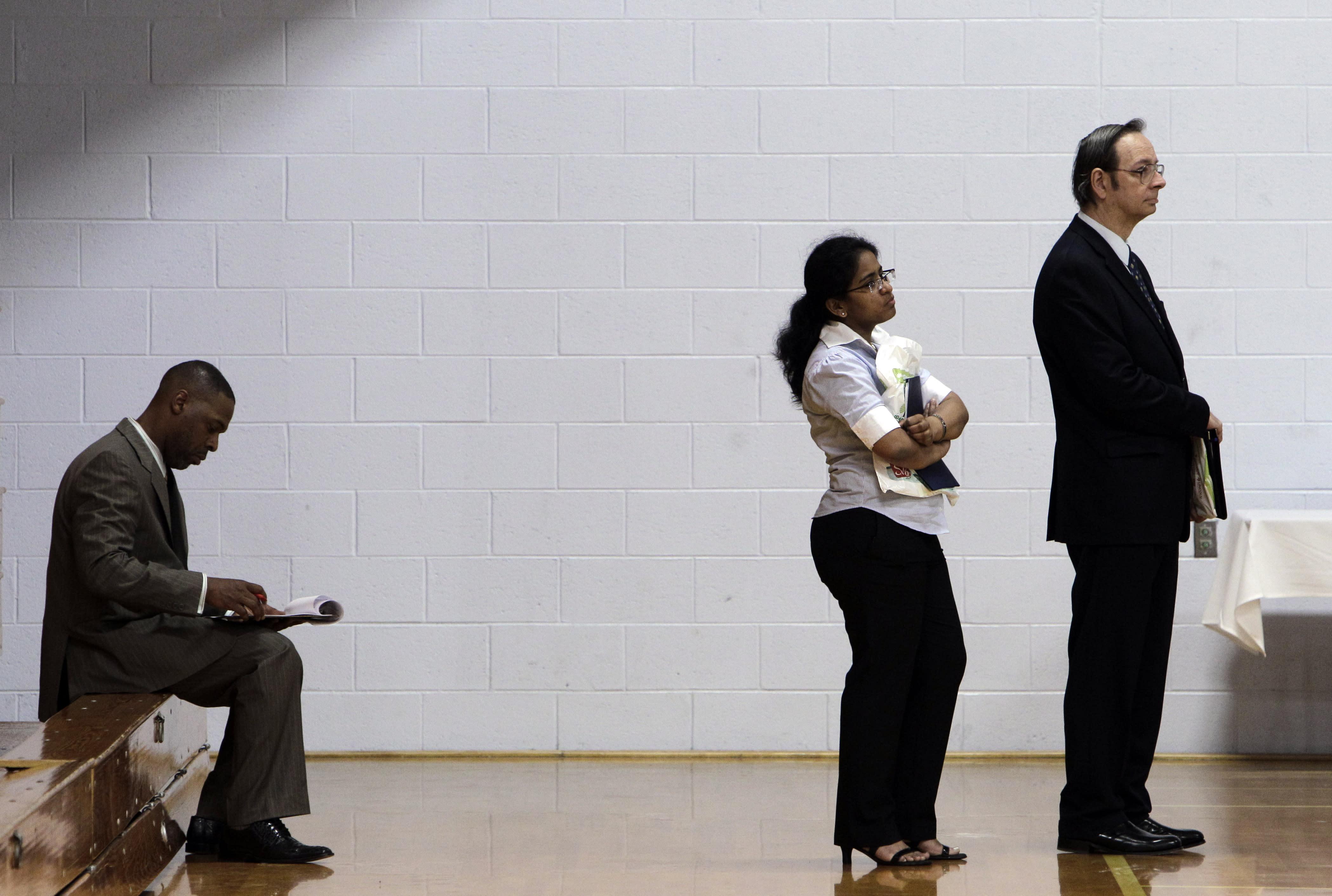 AP IMPACT: Recession, tech kill middle-class jobs