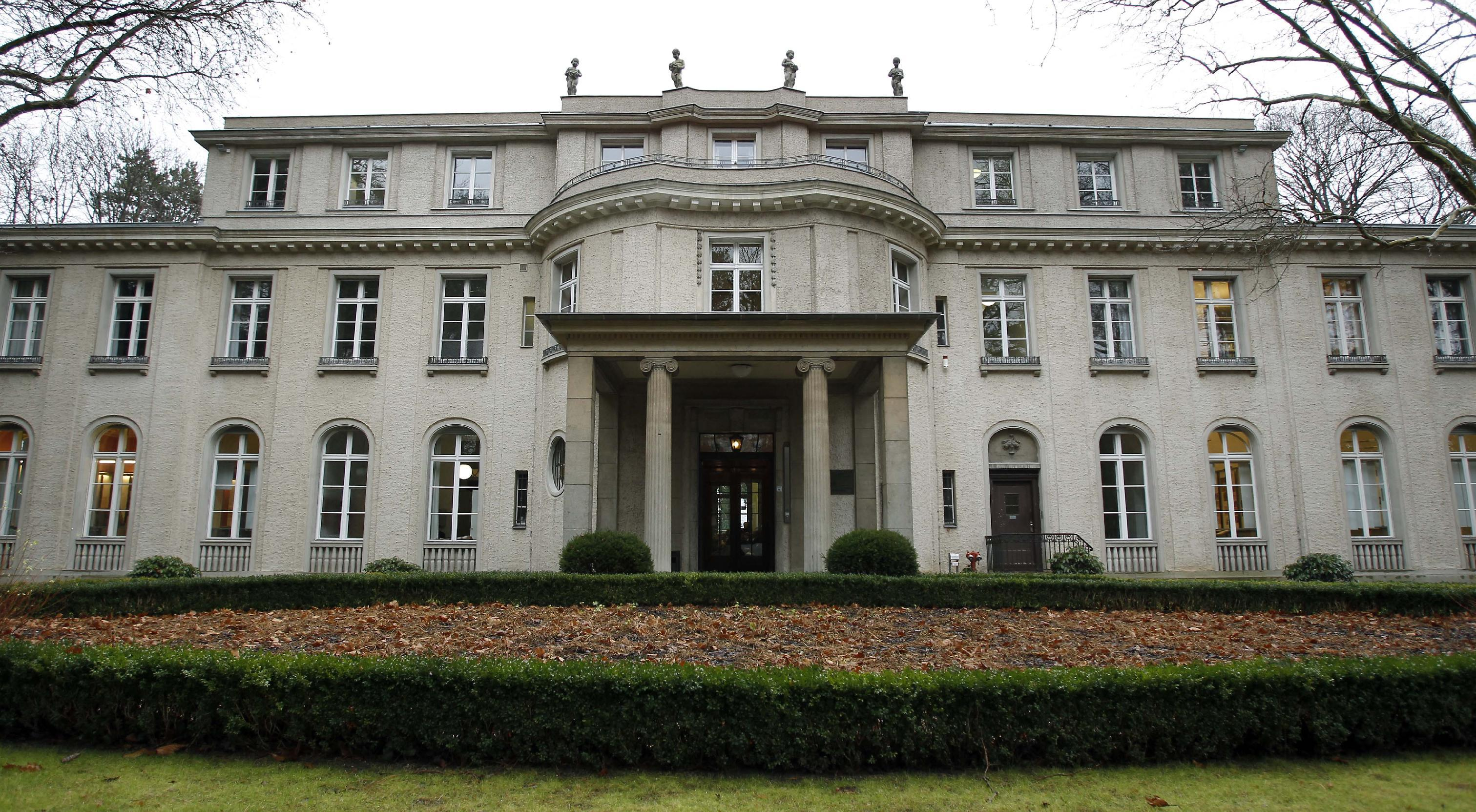 Germany marks 70 years since wannsee conference
