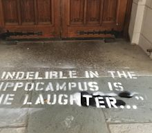 Christine Blasey Ford's Testimony Quotes Were Graffitied On Yale Law School Steps