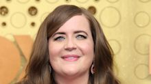 Aidy Bryant can't help but laugh after 'Saturday Night Live' screwup during premiere