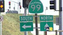 """Highway 99 construction removes """"cheap"""" gas station"""