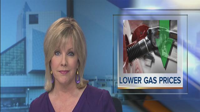 Noon: Lower gas prices
