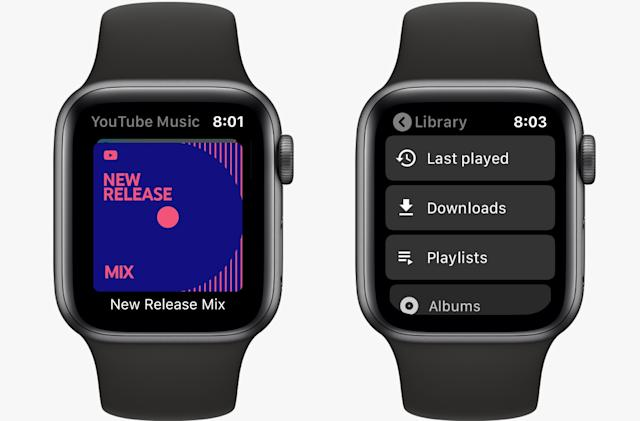 Google debuts an Apple Watch YouTube Music app