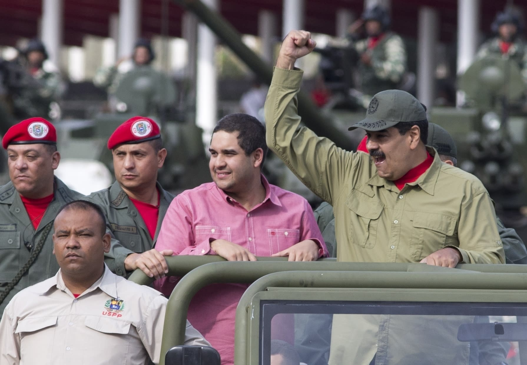 Trump administration targets Maduro's son with sanctions