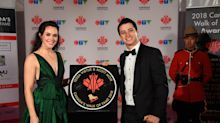 Tessa Virtue stuns in emerald gown at the 2018 Canada's Walk of Fame Awards