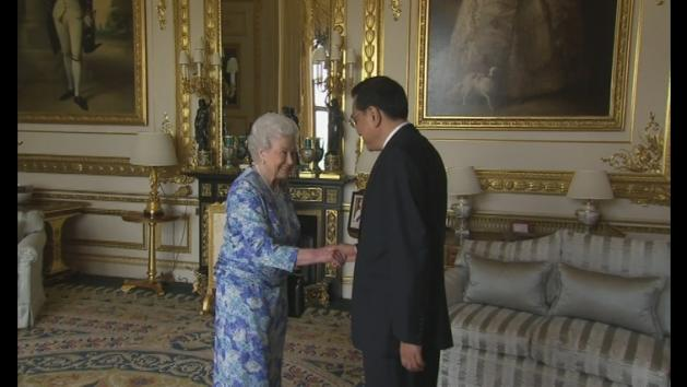 Queen welcomes Chinese Premier to Windsor Castle