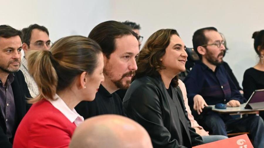 """Iglesias exhibe cohesión con IU y los comunes: """"Hay Unidas Podemos para rato"""""""