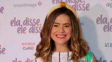 """Maisa Silva compartilha notas baixas na escola: """"Já tirei 2, 3, 4..."""""""