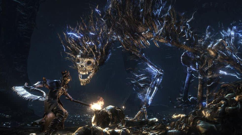 畢竟血源的創意,也成為後來黑魂系列的基礎。(圖源:Bloodborne)