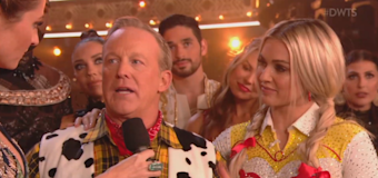 Sean Spicer overcome with emotions on 'DWTS'