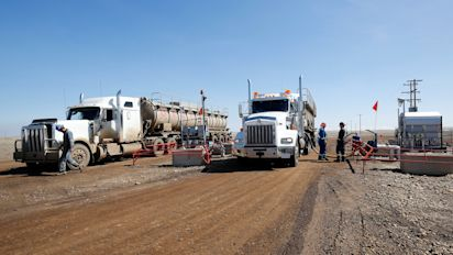Canada is moving oil one truckload at a time