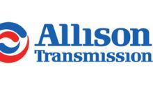 Allison Transmission Announces First Quarter 2018 Results