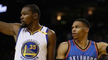 Kevin Durant keeps saving his biggest games for Russell Westbrook and the Thunder