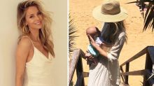 Why mums are shaming Jennifer Hawkins over this photo