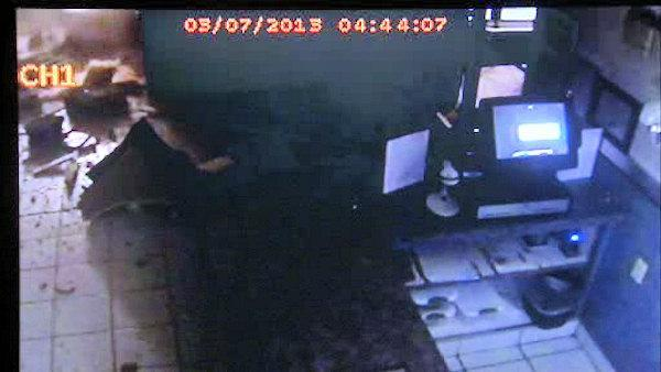 New video of front-end loader slamming into south Jersey diner