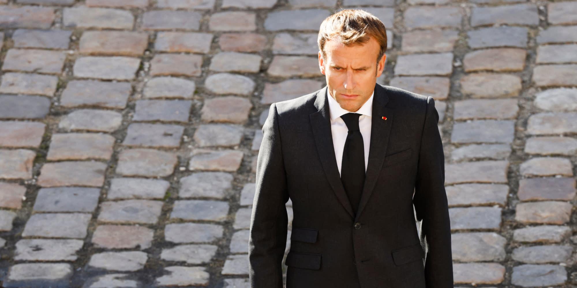 Pourquoi l'hommage à Hubert Germain revêt des enjeux politiques pour Emmanuel Macron