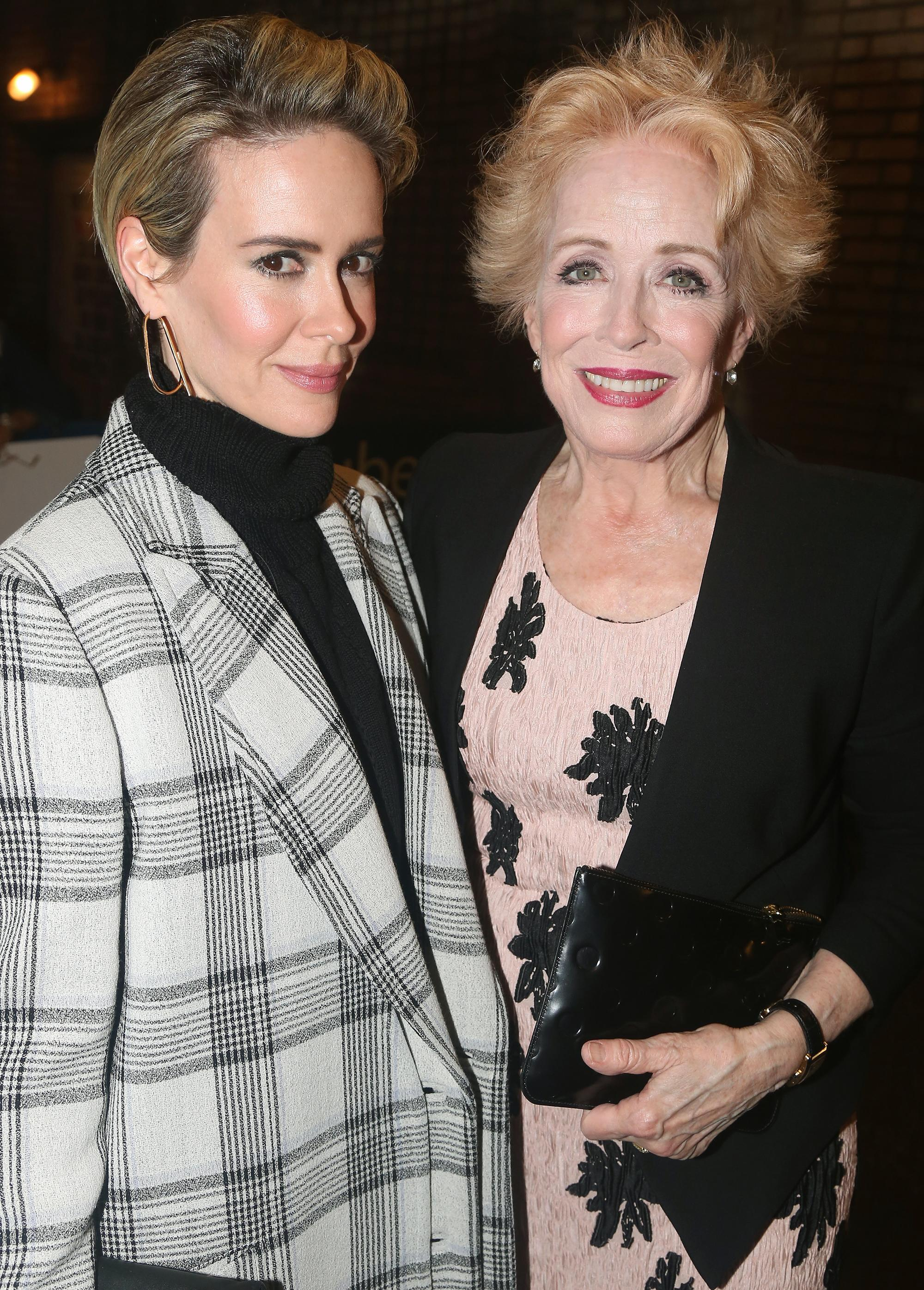 385a2f1ec4526 Holland Taylor Says 'Love' Sarah Paulson 'Makes Everything in My ...
