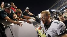 Here's one explanation for Carson Wentz's statistical standing as best QB in NFL after two weeks