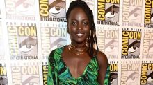 Lupita Nyong'o Disguised Herself as the Pink Power Ranger at Comic-Con and It Was Delightful