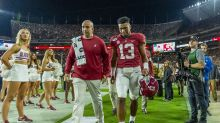 How much does losing Tua Tagovailoa mean to Alabama's point spread?