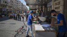 Gaza locks down after detecting local transmission of virus