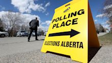 Alberta Election: Map of riding results