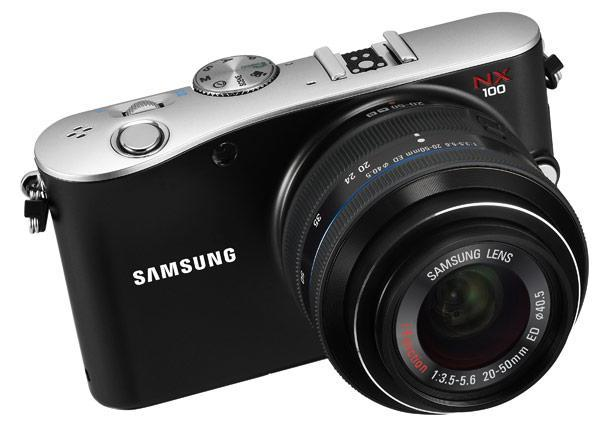 Samsung NX100 mirrorless camera gets official: 14.6MP, i-Function lens, 3-inch AMOLED