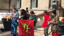 'Our nation is in danger,' Mi'kmaw woman tells Halifax fishery rally