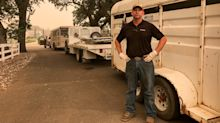 Retired Marine Saves Dozens Of Animals As California Wildfire Rages