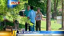 Group against gay scout inclusion