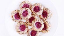 Raspberry Chia Jam Thumbprint Cookies