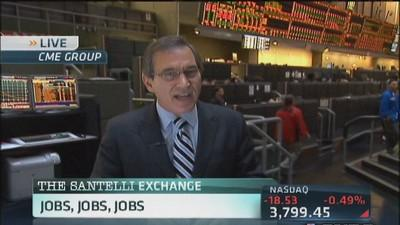 Santelli: It all comes down to jobs, jobs, jobs...