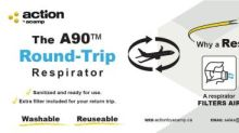 ACAMP Announces the A90™ Round-trip Respirator High Filtration Efficiency and Breath-ability for Travelers