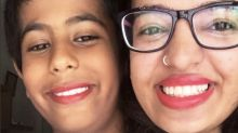 After little boy is ridiculed for wearing lipstick, brave family members take a stand