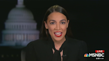 AOC calls Republican spectacle at impeachment hearing 'quite funny'