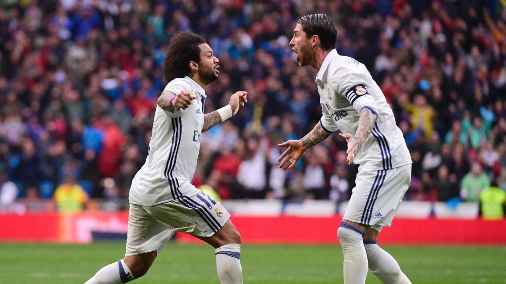 Varane, Marcelo, Ramos y los jugadores con más temporadas en el Real Madrid