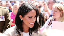 Meghan Markle pays stylish tribute to Princess Diana during first outing since announcing her pregnancy