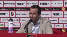 Foot - L1 - Rennes : Stéphan : «Heureux que le mercato soit terminé»