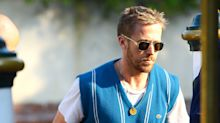 Ryan Gosling's Sleaze-Adjacent Sweater Vest Look Is Difficult To Replicate