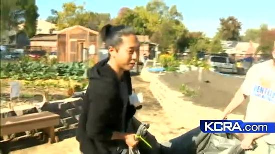Learn some Gardening 101 at the Sacramento Food Bank